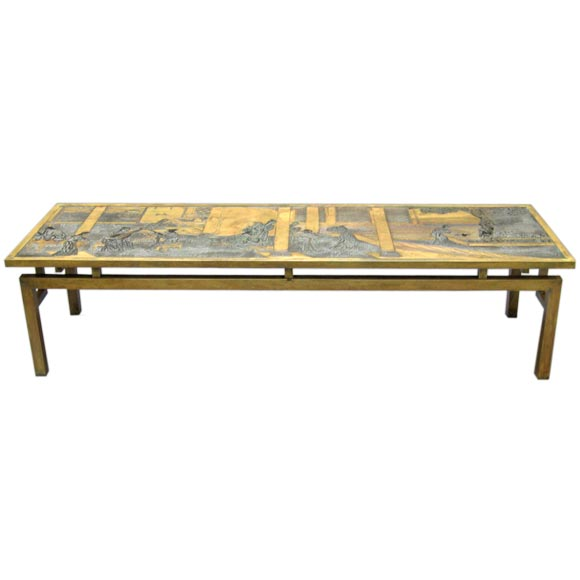 Phillip Laverne Asian Style Coffee Table At 1stdibs