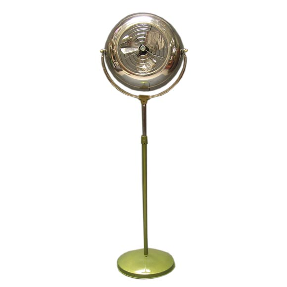 Electrohome Quot Jet Engine Quot Style Floor Fan At 1stdibs