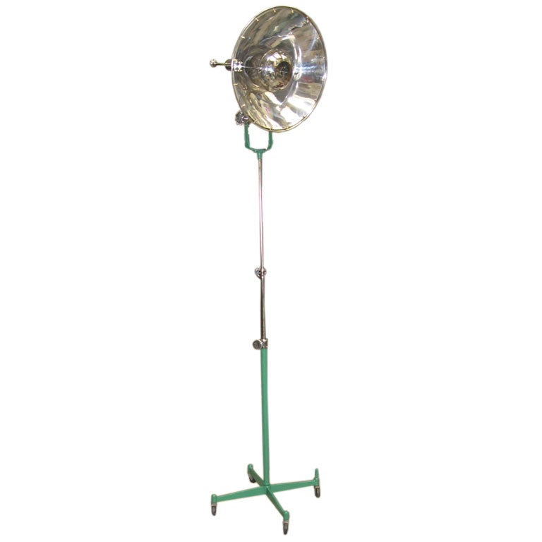 industrial floor lamp by  u0026quot photogenic machine co  u0026quot  at 1stdibs
