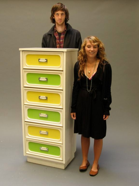 "Narrow ""Come On, Get Happy"" Dresser image 4"