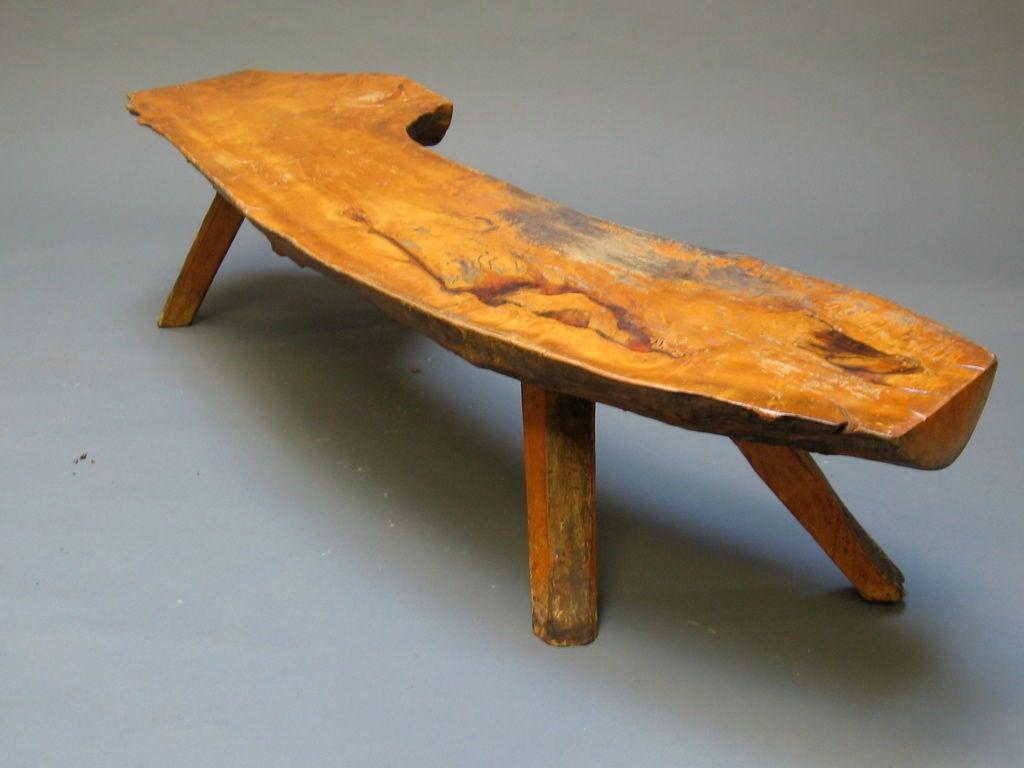 Log bench 28 images glacier half log bench 4 product for Homemade log bench