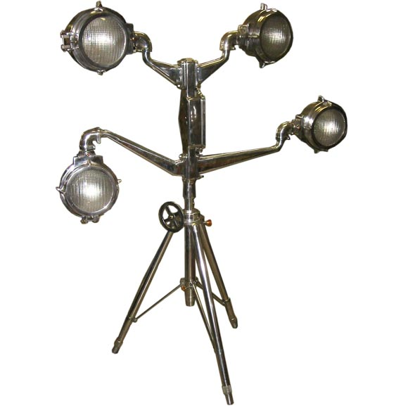Wild Industrial Lamp At 1stdibs