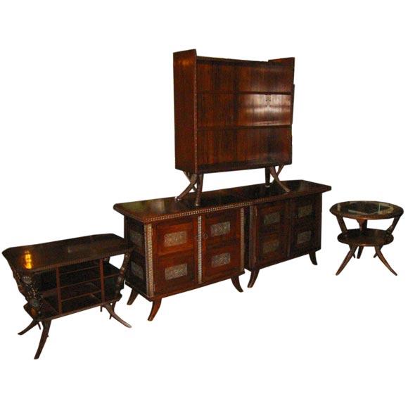 exotic bedroom set at 1stdibs