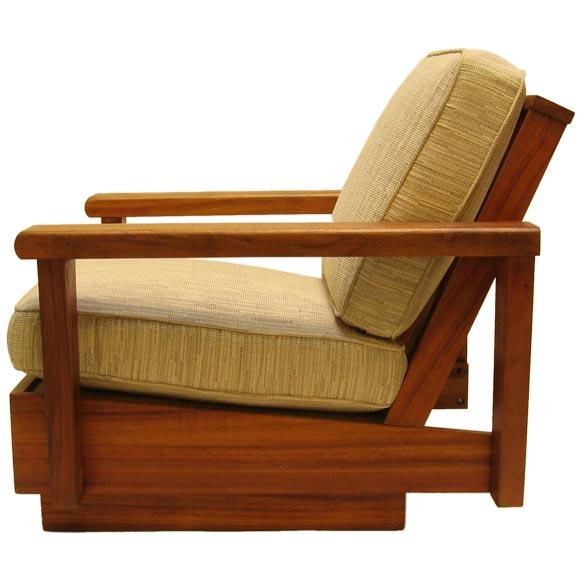 Hawaiian Koa Living Room Set At 1stdibs