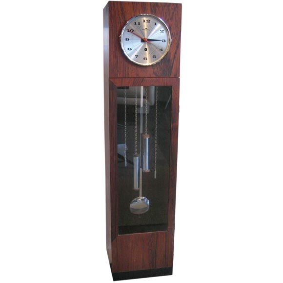 George Nelson Mini Grandfather Clock for Howard Miller 1