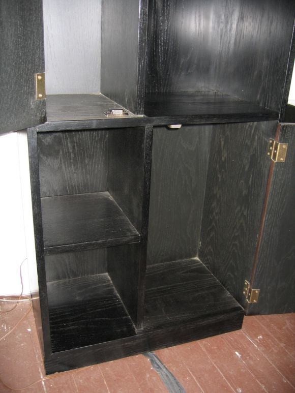 American Pair of Harvey Probber Display Cases For Sale