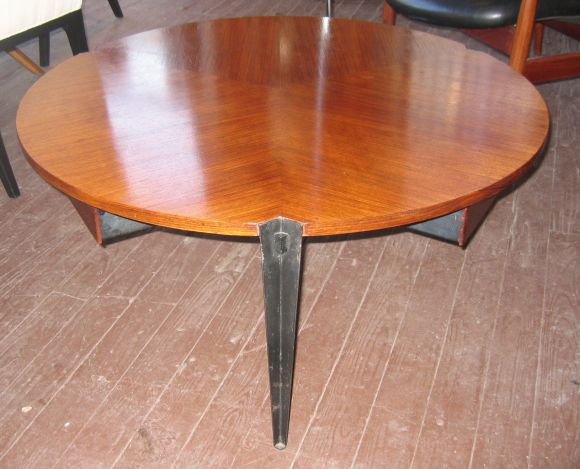 Mid-Century Modern Osvaldo Borsani Coffee Table w/ 3 Drawers