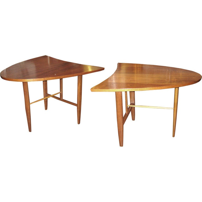 Pair of End Tables by George Nakashima for Widdi b at