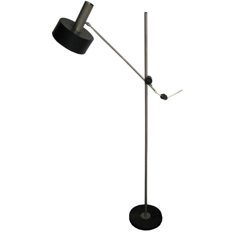 West German Modernist Floor Lamp 1