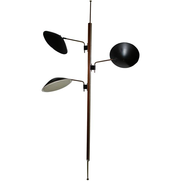 Wonderful Lightolier Pole Lamp For Sale
