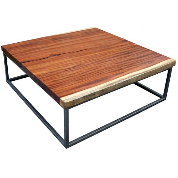 Custom Quanacaste Coffee Table At 1stdibs