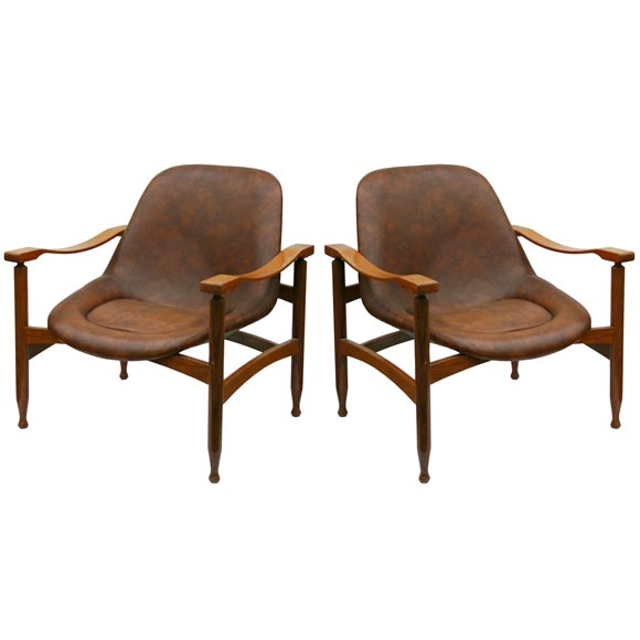 pair busnelli meda armchairs at 1stdibs. Black Bedroom Furniture Sets. Home Design Ideas