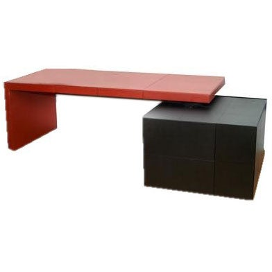 Executive Desk Lella And Massimo Vignelli Poltrona Frau At 1stdibs