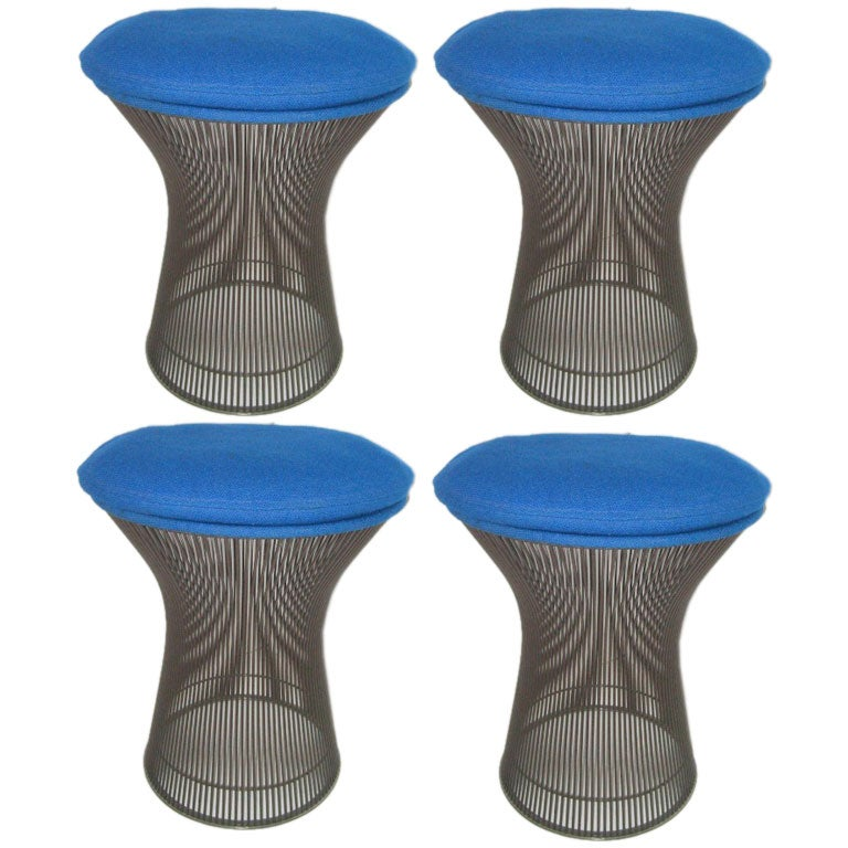 Four Stools Warren Platner At 1stdibs