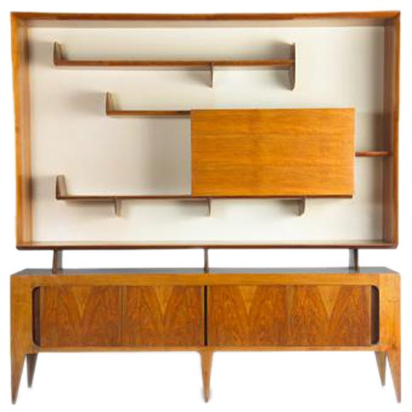 Sideboard Console By Gio Ponti At 1stdibs