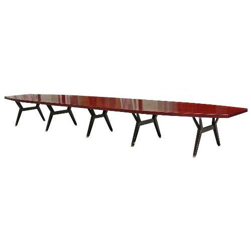 Dining Conference Table by Ico Parisi for MIM at 1stdibs : icoparisimimtabled1 from www.1stdibs.com size 500 x 500 jpeg 12kB