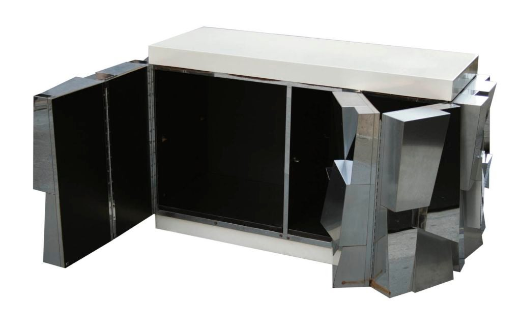 Rare Faceted Console by Paul Evans 6