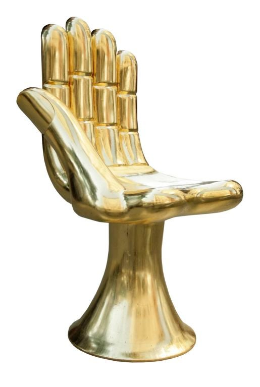 hand chair sculpture by pedro friedeberg at 1stdibs