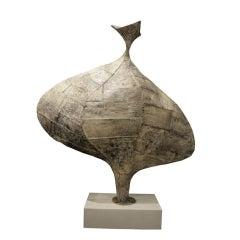 Rare Seven Foot Sculpture by Paul Evans