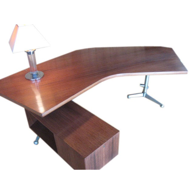 Osvaldo Borsani for Tecno Boomerang T96 Desk at 1stdibs