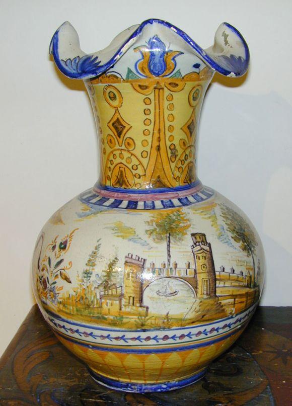 18th Century Spanish Vase At 1stdibs