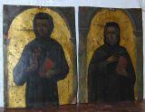 Pair of 16th century Spanish oil paintings