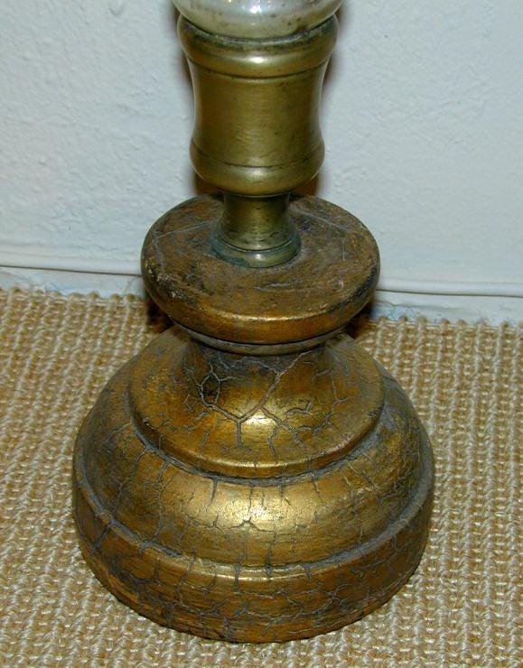 Gilt Mercury Glass Vase