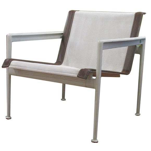 Four Outdoor Armchairs By Richard Schultz For Florence