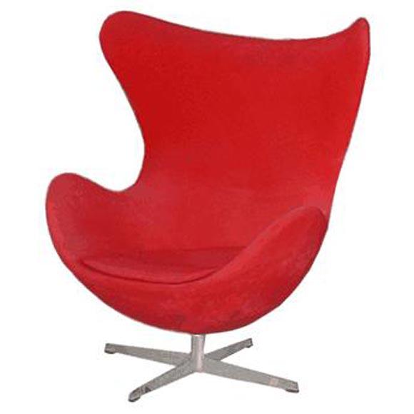 vintage egg chairs by arne jacobsen at 1stdibs. Black Bedroom Furniture Sets. Home Design Ideas