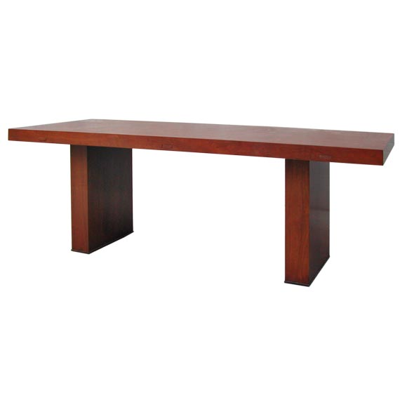 this american craftsman walnut dining table is no longer available