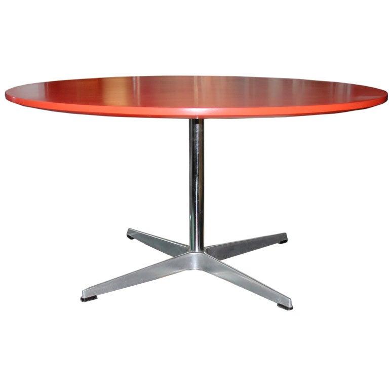 Arne Jacobsen For Fritz Hansen Coffee Table At 1stdibs