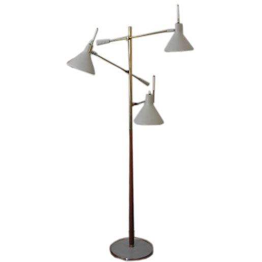 thurston for lightolier 3 arm floor lamp is no longer available. Black Bedroom Furniture Sets. Home Design Ideas