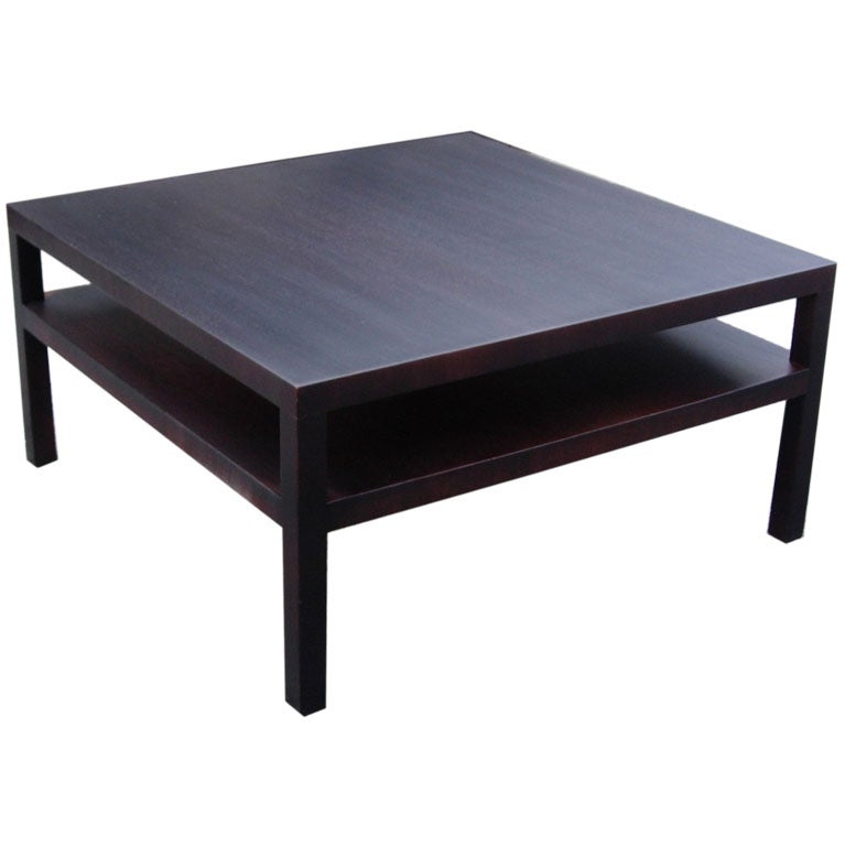Robsjohn Gibbings Bi Level Parsons Coffee Table At 1stdibs