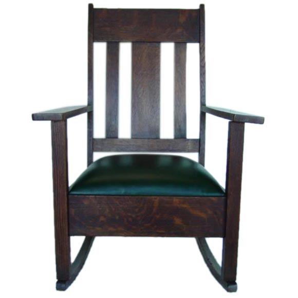 A William Morris Style 19thc Rocker At 1stdibs