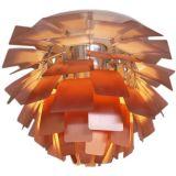 Poul Henningsen for Louis Poulsen Artichoke Lamp in Copper