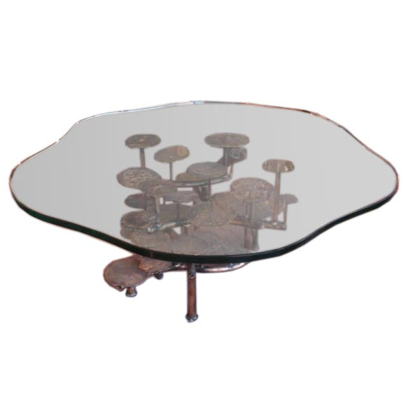 Freeform Organic Coffee Table By Silas Seandel At 1stdibs