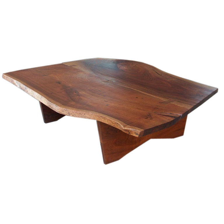 Walnut Coffee Table By Nakashima Woodworker Gino Russo