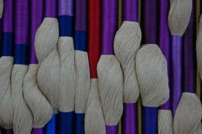 Two Large Wall Hanging Textile Pieces By Sheila Hicks At