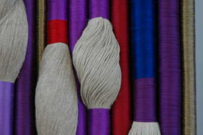 Two Large wall Hanging Textile Pieces by Sheila Hicks image 5