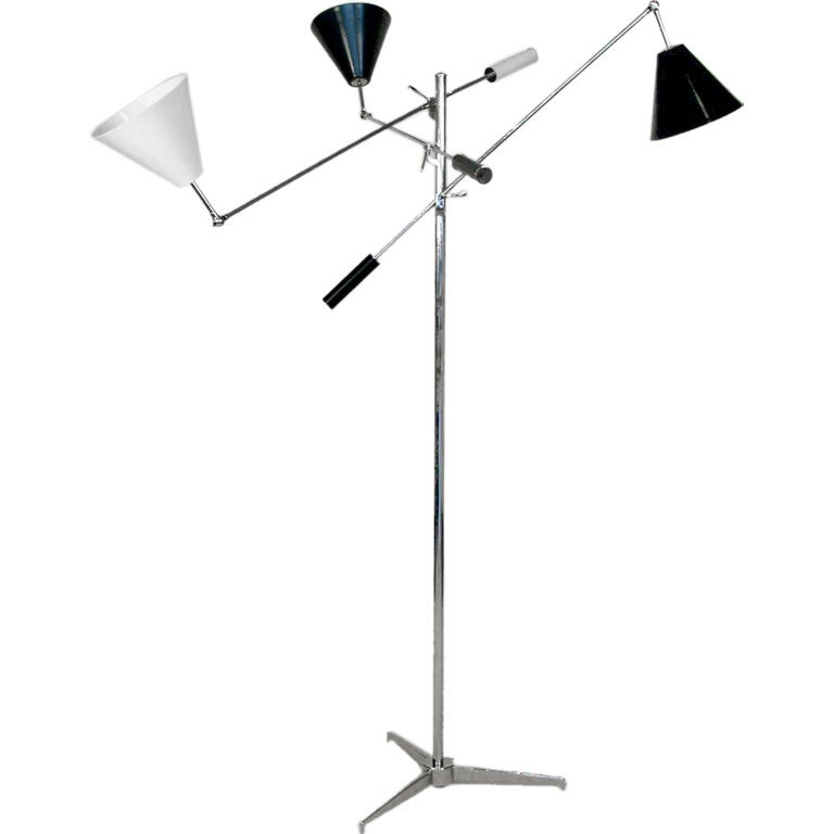Floor Lamp in the Manner of Gino Sarfatti  For Sale