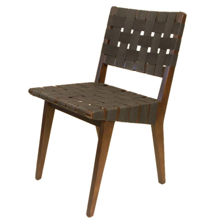 Early set of 8 jens risom dining chairs at 1stdibs - Jens risom dining chairs ...