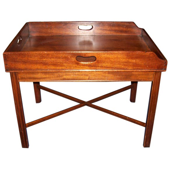 George Iii Walnut Butler S Tray Table At 1stdibs
