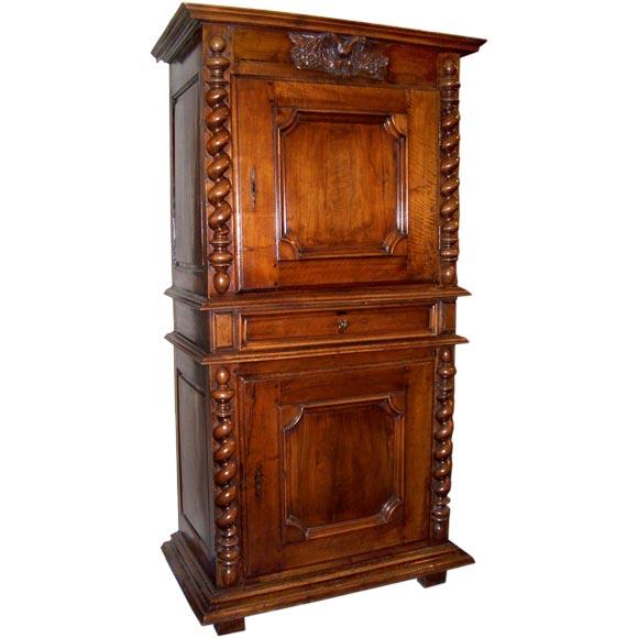louis xiv walnut homme debout at 1stdibs. Black Bedroom Furniture Sets. Home Design Ideas