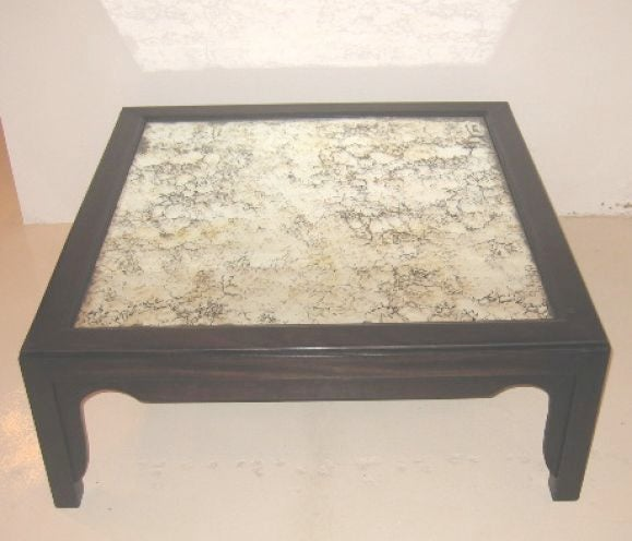 Mirrored Top Coffee Table At 1stdibs