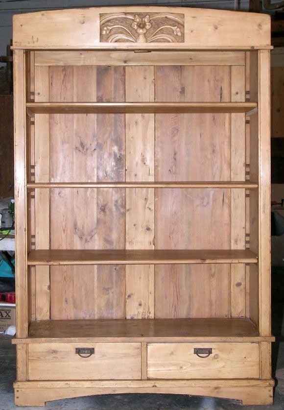 Art Nouveau Bookcase 3