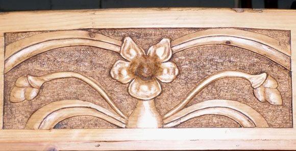 Art Nouveau Bookcase 4