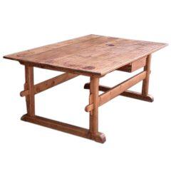 Antique Trestle Table or Farm Table