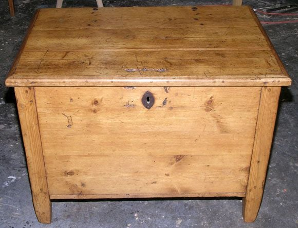 Antique Hope Chest Blanket Box Or Dowry Chest For Sale At