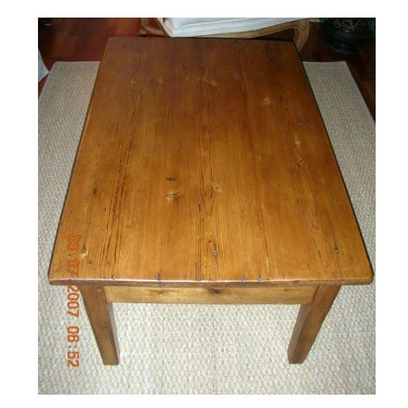 Small Antique Table Coffee Table Or End Table At 1stdibs