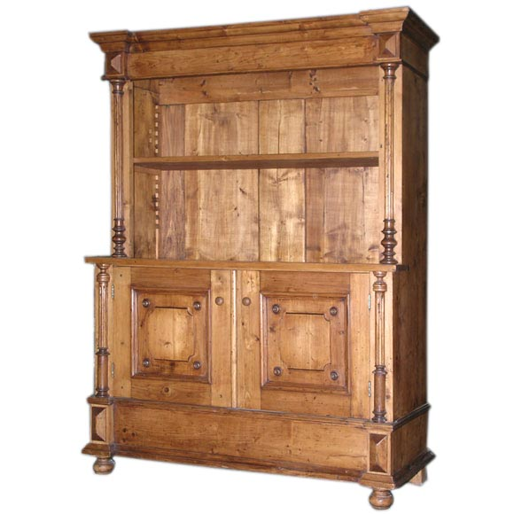Antique Kitchen Hutch And Buffet: Antique Hutch, Buffet At 1stdibs